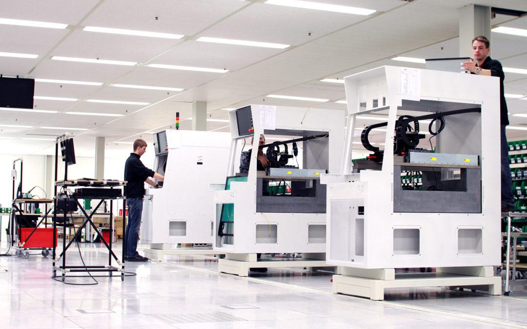 Draht-Bonding  Flexibele Steuerung und zuverlässige Qualitätssicherung in der Halbleiter-Produktion  Projekt anzeigen
