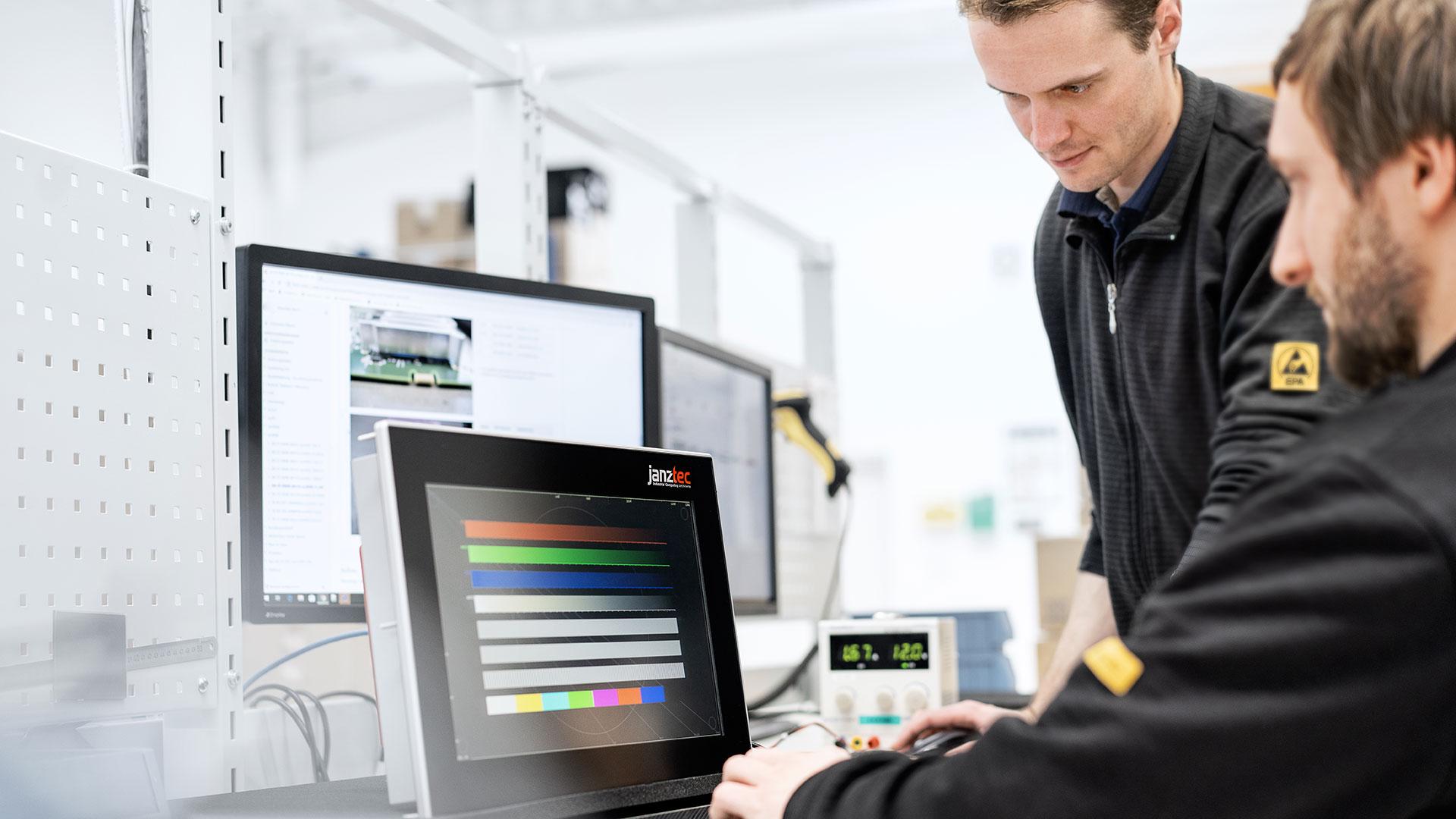 Janz Tec Industrial-IoT Software Engineering
