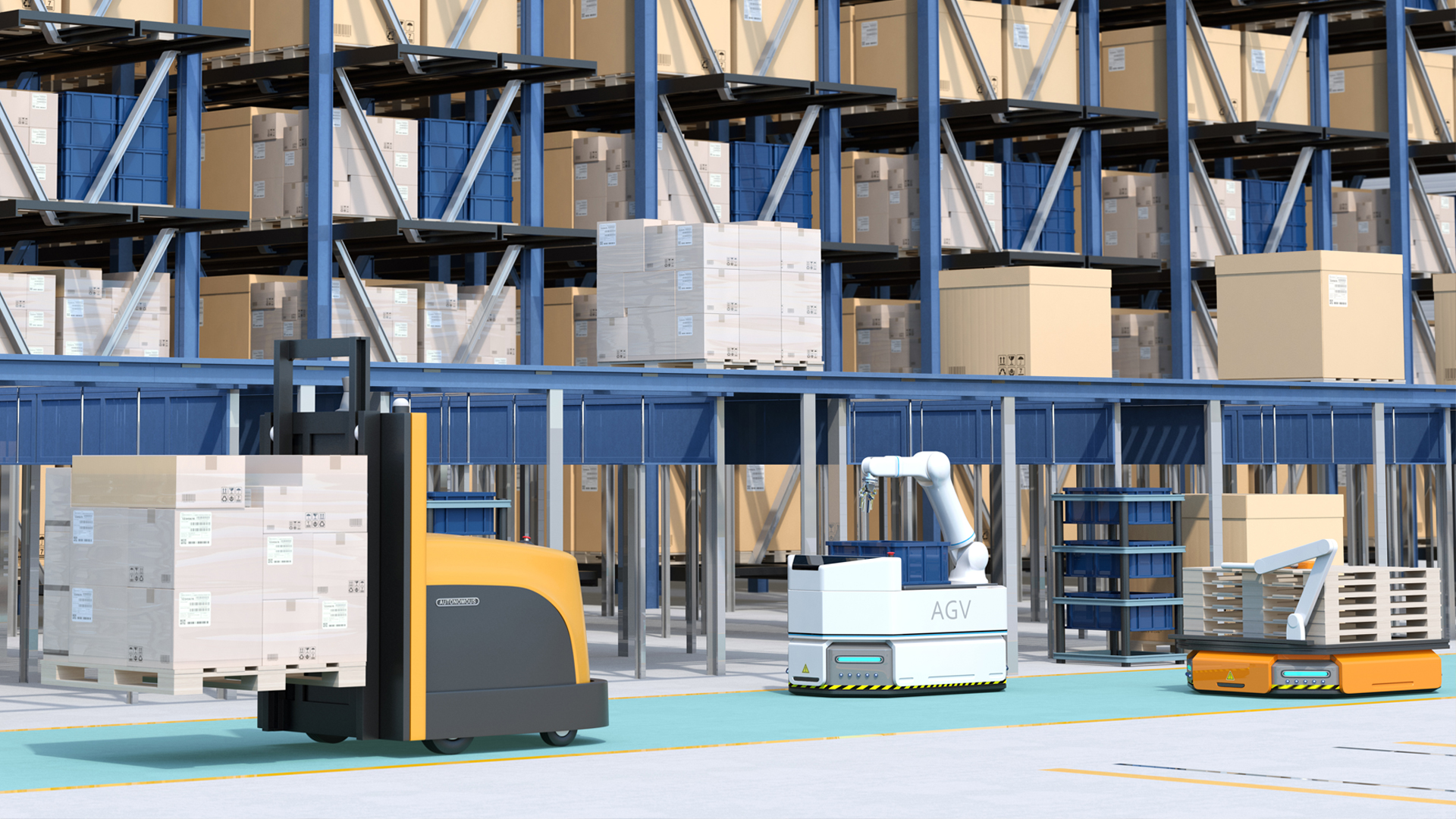 Logistik-AGV