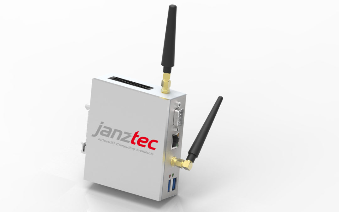 Industrial Raspberry Pi 4 – optionally with LTE modem